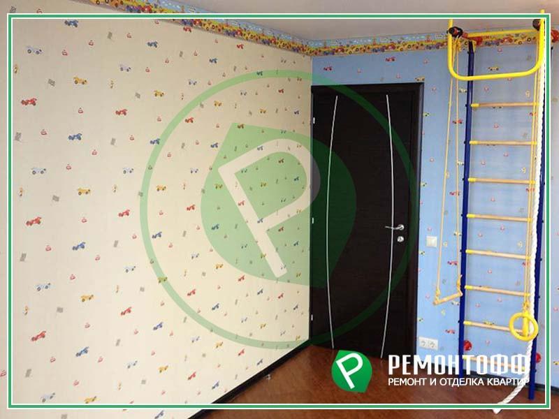 Ремонт в детской комнате 12 м2