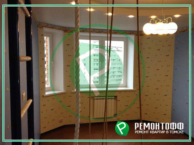 Детская комната с отделкой под ключ 12м2. Снос перегородки, узаконивание перепланировки. Выравнивание и отделка стен, потолка, пола. Гарантия 5 лет!