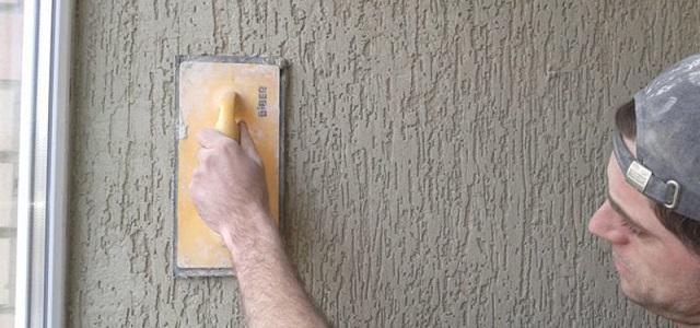 отделка стен короедом