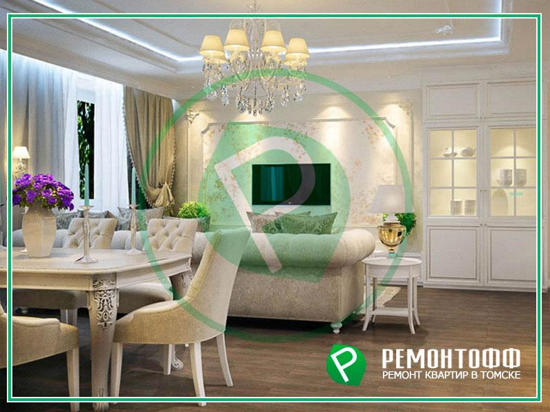 Дизайн квартиры 120м2 с 3D визуализацией. Посмотрите фото дизайна квартиры под ключ и оставьте заявку на разработку дизайна для своей квартиры.
