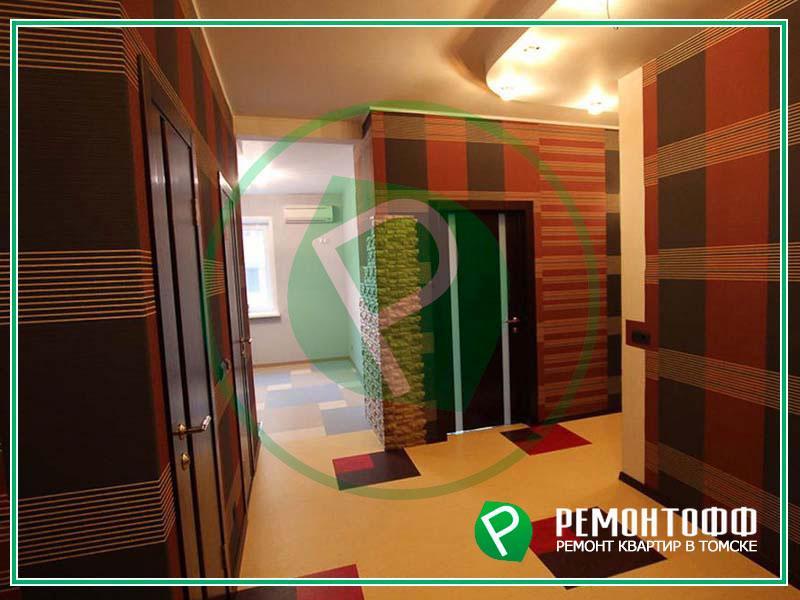 Ремонт черновой квартиры в Томске, ремонт под ключ. Возведение конструкций, ремонт и отделка потолка, полов, стен, натяжные потолки. Гарантия.