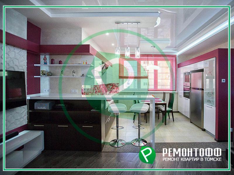 Дизайн квартиры для девушки в современном стиле. Индивидуальный дизайн квартир и ремонт под ключ. При заказе комплекса работ дизайн в подарок!