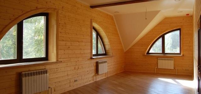 Дом в стиле кантри - проект Romance - АРХИWOOD
